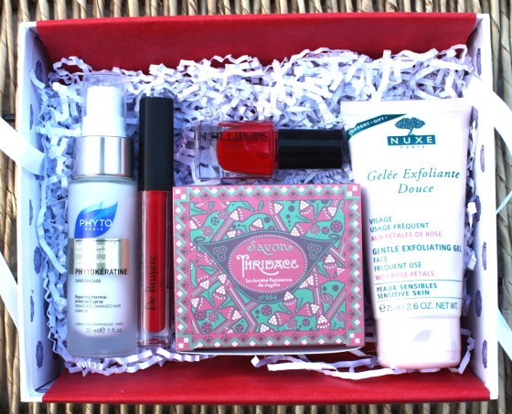 Glossybox October 2015 Box Items Featured