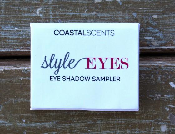 Birchbox December 2015 Box Reveal Coastal Scents Eye Shadow Sampler