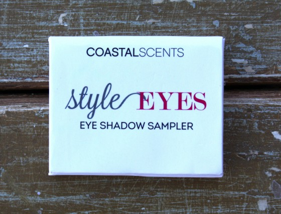 Birchbox December 2015 Box Reveal Coastal Scents Eye Shadow Sampler