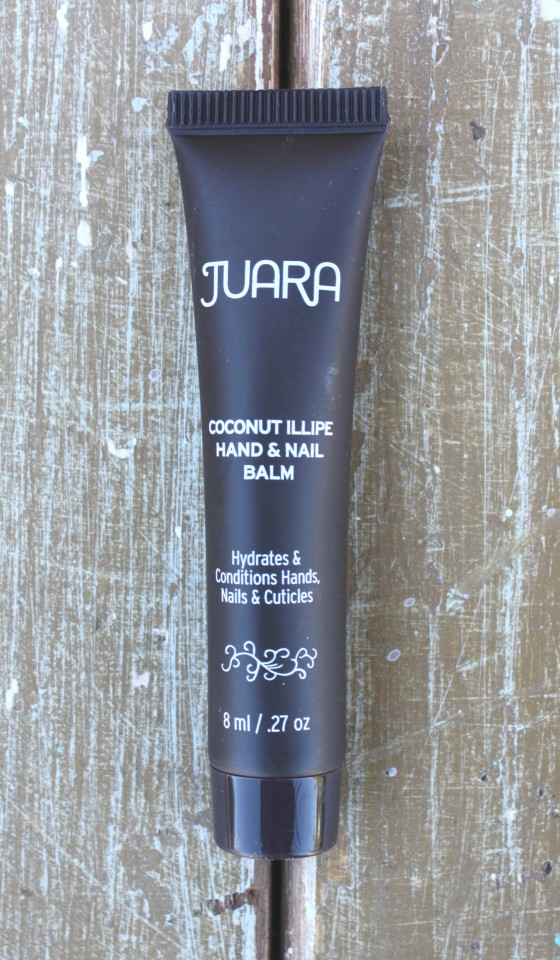 Birchbox December 2015 Box Reveal Juara Coconut ILLIPE Hand and Nail Balm