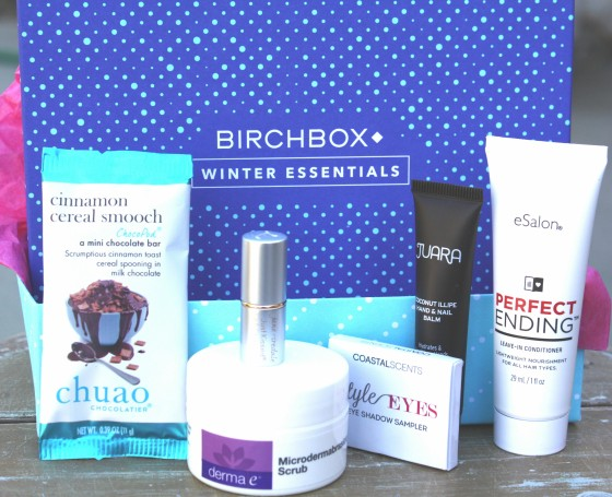 Birchbox December 2015 Box Reveal Products