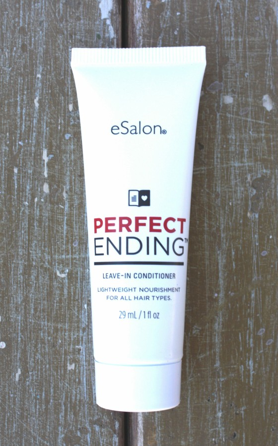 Birchbox December 2015 Box Reveal eSalon Perfect Ending Leave in Conditioner