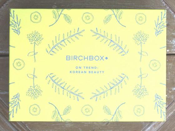 Birchbox January 2016 Box