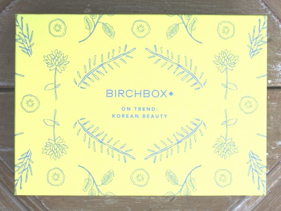 Birchbox January 2016 Box