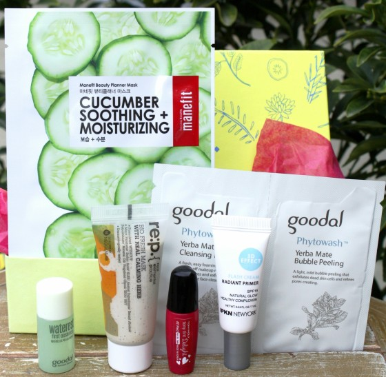 Birchbox January 2016 Box Reveal Featured Samples
