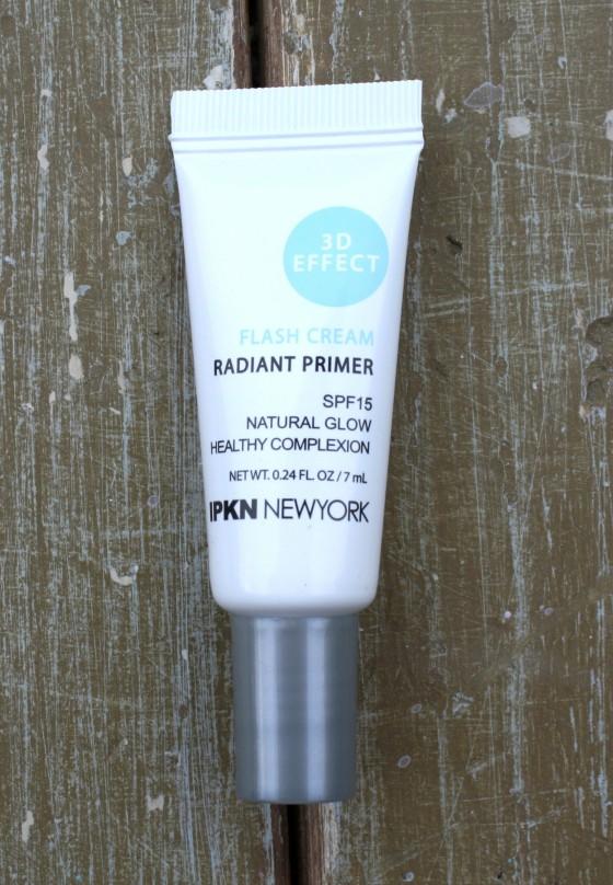 Birchbox January 2016 Box Reveal IPKN Flash Cream Radiant Primer