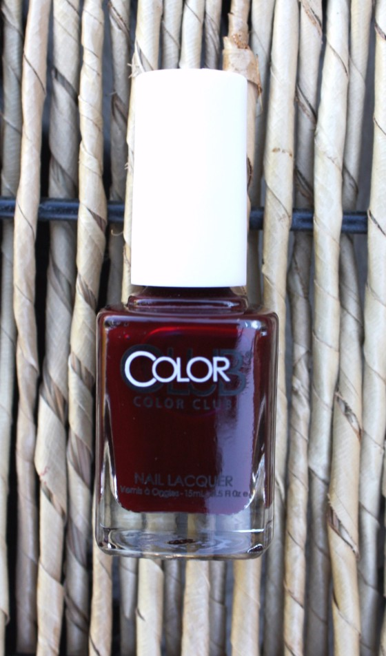 Glossybox December 2015 Box Color Club Nail Polish in the color Feverish - Edited
