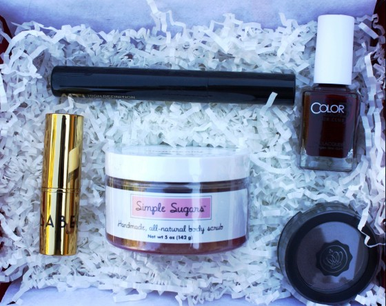 Glossybox December 2015 Box Featured Items - Edited