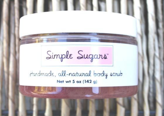 Glossybox December 2015 Photo 2015 Box Simple Sugars Handmade All Natural Body Scrub in Cranberry
