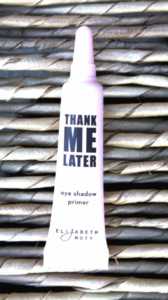 Ipsy December 2015 Bag Reveal Elizabeth Mott Thank Me Later Eye Shadow Primer