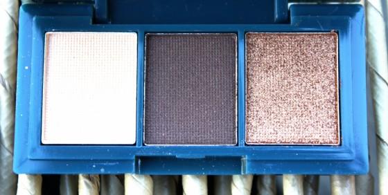 Ipsy December 2015 Bag Reveal Peony Cosmetics Shadow Trio Eyeshadow Palette
