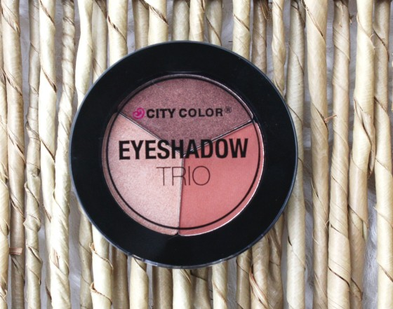 Ipsy January 2016 Bag Reveal City Color Eyeshadow Trio in Falling Leaves