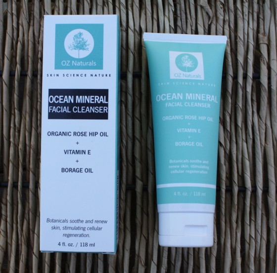 Nourishing and Recharging Dull Dry Winter Skin with Oz Naturals Ocean Mineral Facial Cleanser