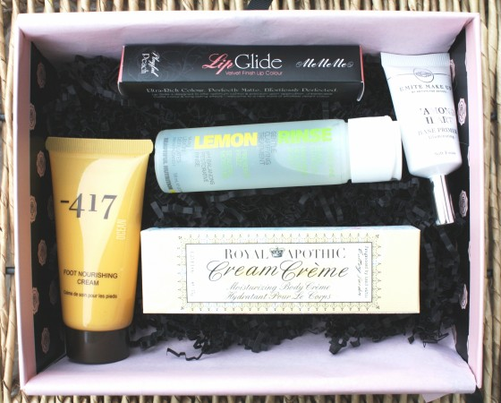 Glossybox January 2016 Box Featured Products