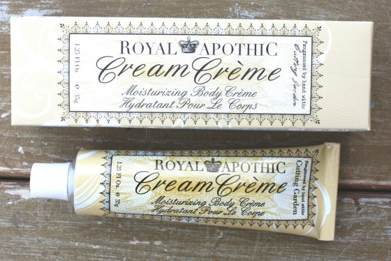 Glossybox January 2016 Box Royal Apothic Cream Creme To Go