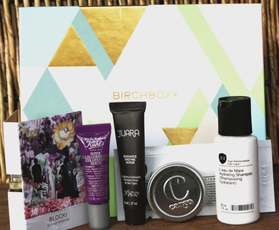Birchbox March 2016 Box Reveal Featured Samples