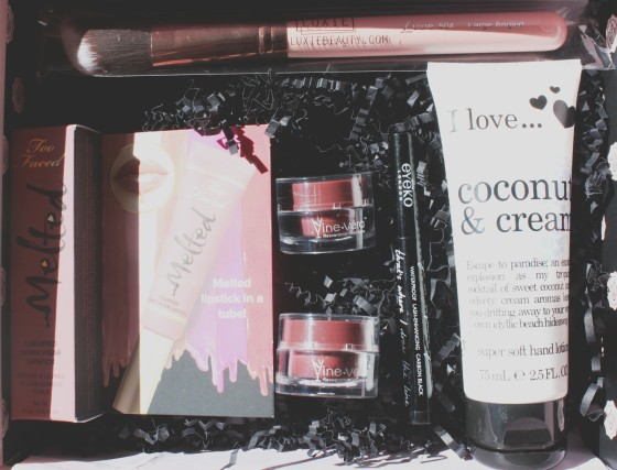 Glossybox March 2016 Box Featured Items