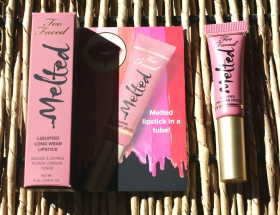 Glossybox March 2016 Box Too Faced Melted Liquified Long Wear Lipstick in Chihuahua
