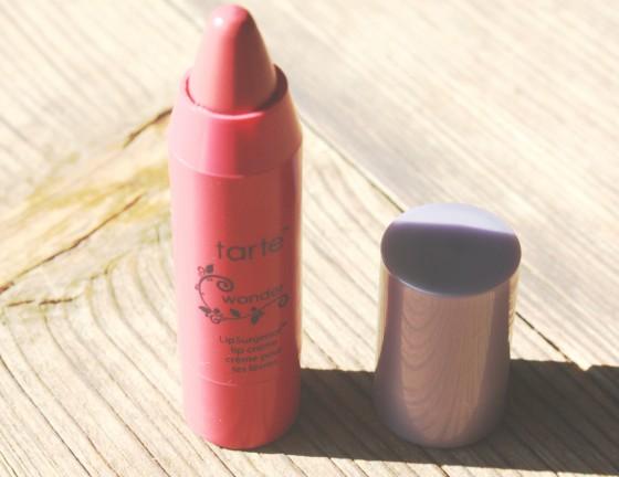Ipsy April 2016 Bag Tarte LipSurgence Lip Creme In The Color Wonder