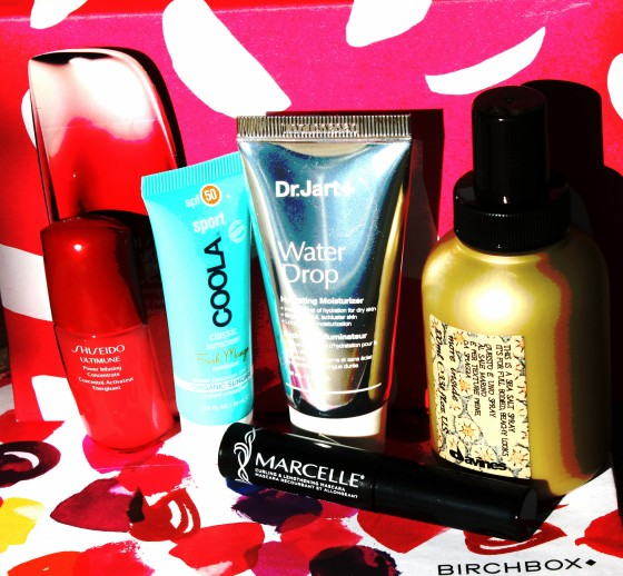 Birchbox July 2016 Box Reveal Featured Samples