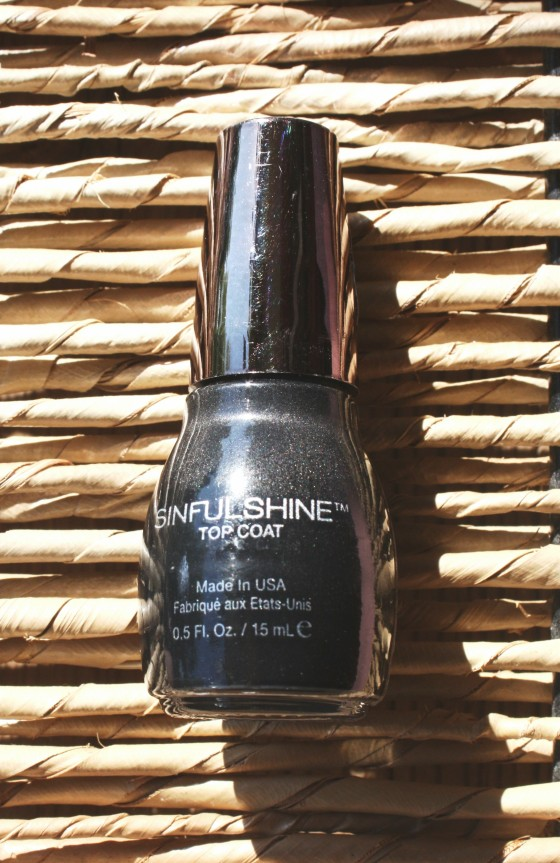 Glossybox July 2016 Box Sinfulshine Topcoat