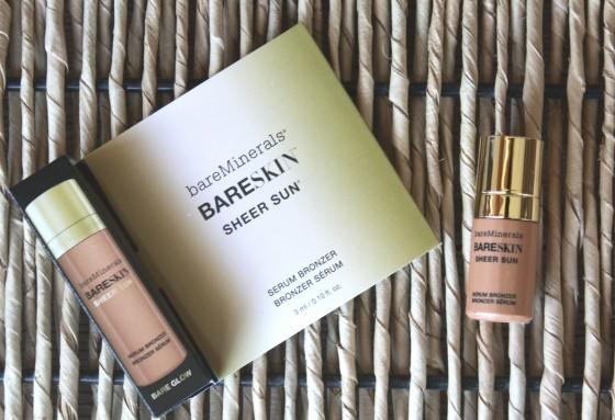 June 2016 Beauty Subscriptions Roundup Edition BareMinerals BareSkin Sheer Sun Serum Bronzer