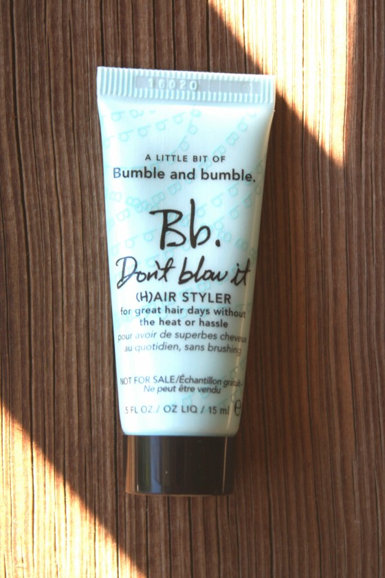 June 2016 Beauty Subscriptions Roundup Edition Bumble and Bumble Don't Blow It Hair Styler