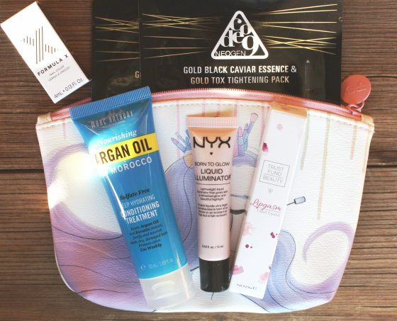 Ipsy August 2016 Bag Featured Samples