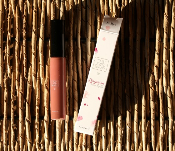 Ipsy August 2016 Bag Trust Fund Beauty Lipgasm Liquid Lipstick