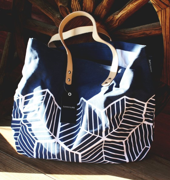 Sunnylife Deluxe Tote Bag In Lennox