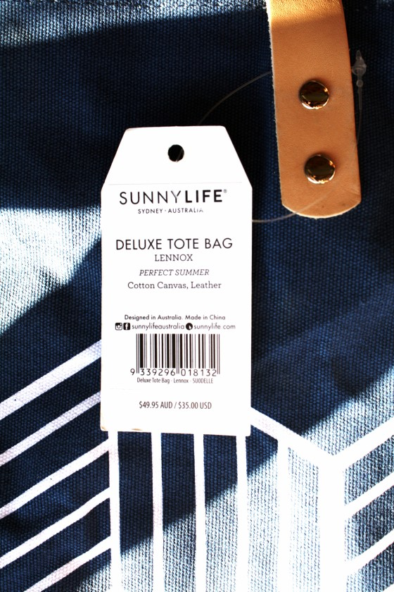 Sunnylife Deluxe Tote In Lennox