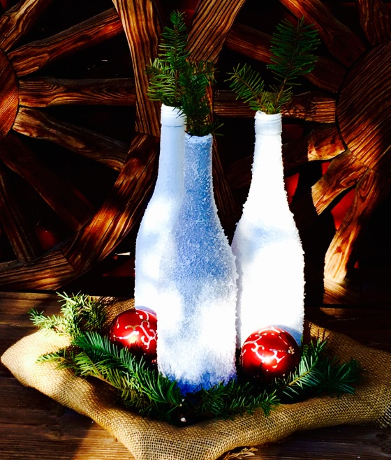 diy-holiday-wine-bottle-centerpiece