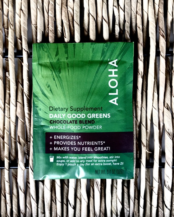 subscription-alert-daily-goodie-box-february-2017-edition-aloha-daily-good-greens-chocolate-blend